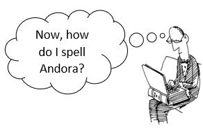 Andora with two r`s?