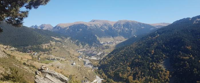 Andorra so different in geography from Monaco