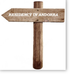 To Andorra sign